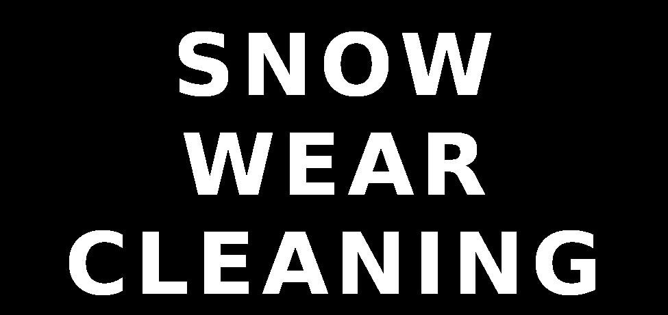 ウェア 洗濯 スキー